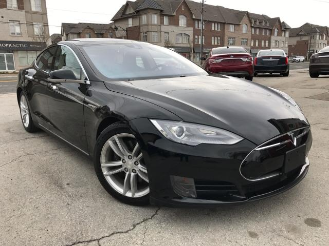 2015 Tesla Model S AWD 85D One Owner Accident Free Auto Pilot Navi