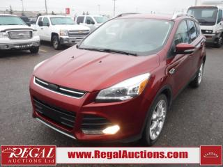 Used 2015 Ford Escape Titanium 4D Utility 4WD 2.0L for sale in Calgary, AB