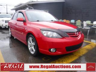 Used 2004 Mazda MAZDA3 Sport 4D Hatchback for sale in Calgary, AB