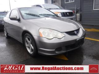 Used 2003 Acura RSX 2D Coupe for sale in Calgary, AB