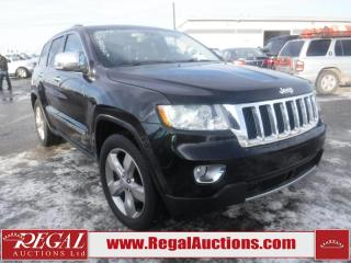 Used 2013 Jeep Grand Cherokee Overland 4D Utility 4WD for sale in Calgary, AB