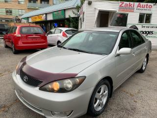 Used 2005 Toyota Camry SE for sale in Toronto, ON