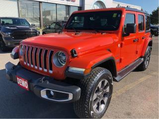 Used 2018 Jeep Wrangler Sahara 4x4 2.0L w/Leather, Navi, Premium Sound, Co for sale in Hamilton, ON