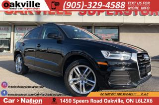 Used 2016 Audi Q3 2.0T KOMFORT | PANO ROOF | LEATHER | BLUETOOTH for sale in Oakville, ON
