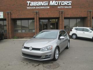Used 2015 Volkswagen Golf COMFORTLINE - LEATHER - REAR CAM - HEATED SEATS - BT for sale in Mississauga, ON