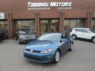 2015 Volkswagen Golf COMFORTLINE - NO ACCIDENTS - LEATHER - REAR CAM-HEATED SEATS