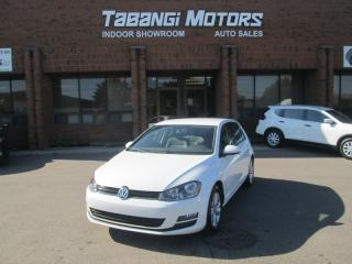 Used 2015 Volkswagen Golf COMFORTLINE - NO ACCIDENTS - LEATHER - REAR CAM -HEATED SEAT for sale in Mississauga, ON