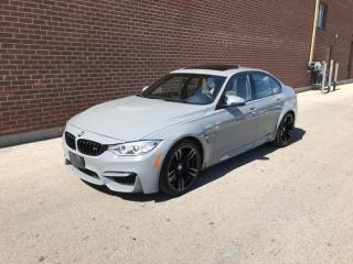 Used 2016 BMW M3 4Dr Sdn for sale in Mississauga, ON
