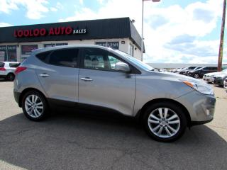 Used 2011 Hyundai Tucson Limited Auto AWD NAVI SUNROOF CERTIFIED 2YR WARRANTY for sale in Milton, ON