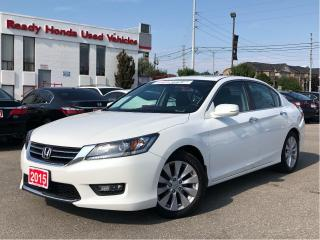 Used 2015 Honda Accord Sedan EX-L - Leather - Sunroof - Rear Camera for sale in Mississauga, ON