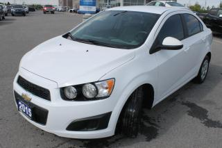 Used 2015 Chevrolet Sonic LS for sale in Carleton Place, ON