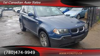 Used 2005 BMW X3 3.0I for sale in Edmonton, AB