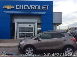 Used 2015 Buick Encore AWD Leather  - Leather Seats - $145 B/W for sale in Bolton, ON