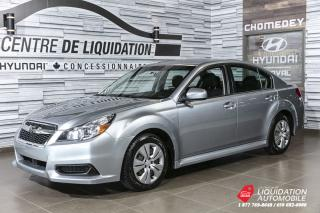 Used 2014 Subaru Legacy 2.5I for sale in Laval, QC