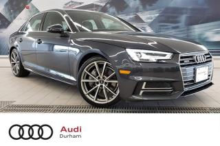 Used 2017 Audi A4 2.0T Progressiv + S-Line | CarPlay | Nav for sale in Whitby, ON
