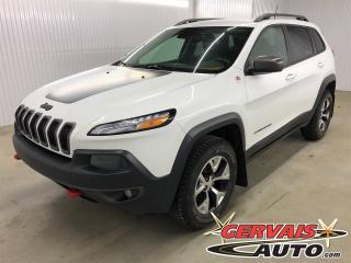 Used 2016 Jeep Cherokee Trailhawk V6 4x4 GPS Cuir MAGS Caméra for sale in Shawinigan, QC