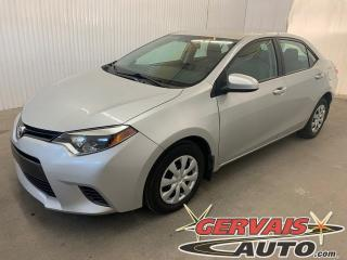 Used 2016 Toyota Corolla LE Caméra de recul Sièges Chauffants Bluetooth for sale in Shawinigan, QC