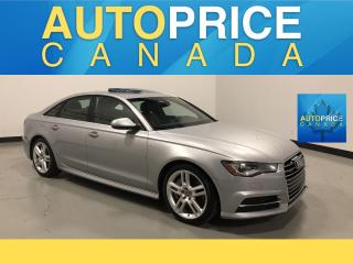 Used 2016 Audi A6 2.0T Progressiv S-LINE|NAVIGATION|MOONROOF for sale in Mississauga, ON