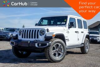 New 2020 Jeep Wrangler Unlimited New Car Sahara|4x4|Power Sky Roof|Navi|Backup Cam|Bluetooth|R-Start|Leather|Blind Spot|18