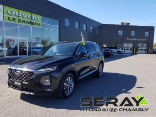 Used 2019 Hyundai Santa Fe 2.4L Preferred AWD, Dark Chrome, mags, a/c, for sale in Chambly, QC