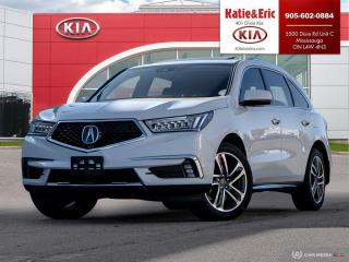 Used 2017 Acura MDX Navigation Package Certified ACURA CERTIFIED Warranty to 2023 for sale in Mississauga, ON