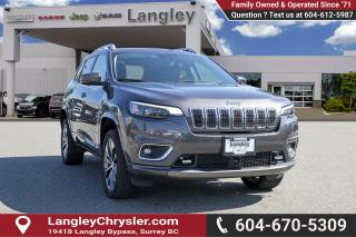 Used 2019 Jeep Cherokee Overland - Low Mileage for sale in Surrey, BC