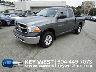 Used 2012 RAM 1500 ST 4x4 Quad Cab 140wb for sale in New Westminster, BC