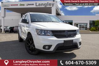 Used 2017 Dodge Journey SXT - Low Mileage for sale in Surrey, BC