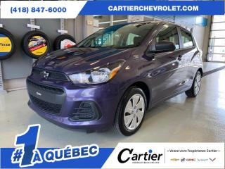 Used 2016 Chevrolet Spark Manuel *ANDROID AUTO* APPLE CARPLAY* Bas KM for sale in Québec, QC