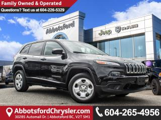 Used 2016 Jeep Cherokee Sport *ACCIDENT FREE* *LOCALLY DRIVEN* for sale in Abbotsford, BC
