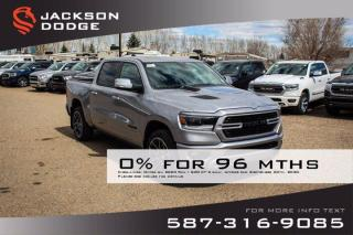 New 2020 RAM 1500 Sport Crew Cab | 12 Inch Touchscreen | Remote Start | Navigation for sale in Medicine Hat, AB