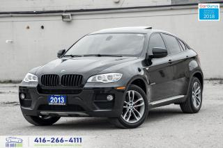 Used 2013 BMW X6 35i NavGps360*Cam CleanCarfax Certified We Finance for sale in Bolton, ON