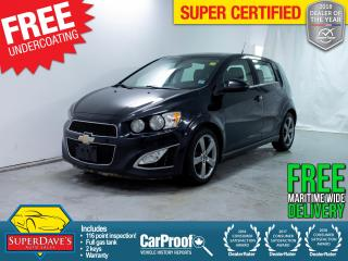 Used 2014 Chevrolet Sonic for sale in Dartmouth, NS