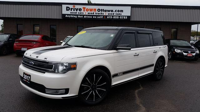 2017 Ford Flex SEL AWD **NAV**LEATHER**MOONROOF**