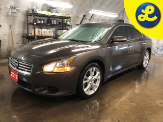 Used 2014 Nissan Maxima SL * Navigation * Leather * Double power sunroof *  Auto projection headlights with fog lights * Passive/keyless entry * Power front seats with 2 memo for sale in Cambridge, ON