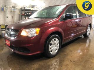 Used 2017 Dodge Grand Caravan SXT *  Stow N Go * Power drivers seat * Heated mirrors * Power second-row windows Pwr 3rd-row quarter-vented windows Power windows w/ fro for sale in Cambridge, ON
