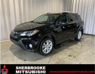 Used 2015 Toyota RAV4 Traction intégrale 4 portes Limited for sale in Sherbrooke, QC