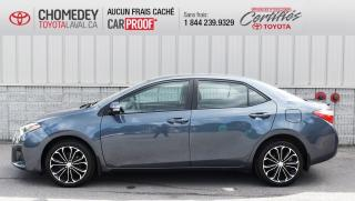 Used 2016 Toyota Corolla S, AUTOMATIQUE, TOIT OUVRANT for sale in Laval, QC