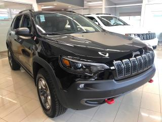 Used 2019 Jeep Cherokee Trailhawk 4x4  PDSF  43 220$ for sale in Sorel-Tracy, QC