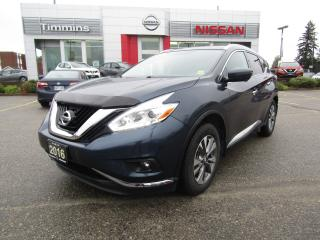 Used 2016 Nissan Murano SL for sale in Timmins, ON