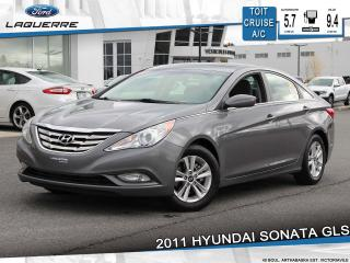 Used 2011 Hyundai Sonata GLS**TOIT*CRUISE*VITRES*A/C*GR ELECTRIQUE** for sale in Victoriaville, QC