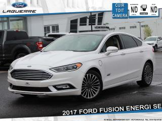 Used 2017 Ford Fusion ENERGI SE**LUXURY PKG*CUIR*TOIT*CAMERA*BLUETOOTH** for sale in Victoriaville, QC