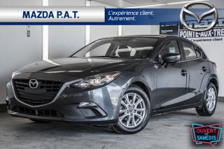 Used 2016 Mazda MAZDA3 2016 Mazda 3 SPORT+TOIT+JAMAIS ACCIDENTÉ for sale in Montréal, QC