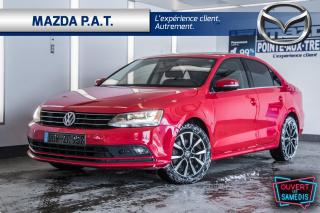 Used 2015 Volkswagen Jetta AUTO+CAMÉRA DE RECUL+TOIT OUVRANT+BLUETOOTH for sale in Montréal, QC