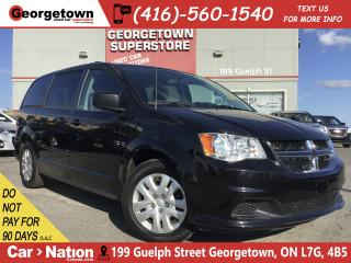 Used 2017 Dodge Grand Caravan SXT | CAPTAIN CHAIRS | DUAL CLIMATE | ECO MODE for sale in Georgetown, ON