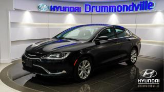 Used 2015 Chrysler 200 LIMITED + MAGS + CRUISE + BLUETOOTH + AC for sale in Drummondville, QC