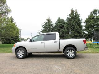 Used 2008 Nissan Titan SE V8 4WD CREW CAB for sale in Thornton, ON