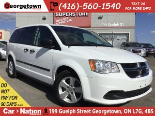 Used 2016 Dodge Grand Caravan SE | BACK UP CAM | 3RD ROW PWR WINDOWS | for sale in Georgetown, ON