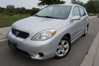 Used 2006 Toyota Matrix XR - 1 OWNER / LOCALLY OWNED / CLEAN CAR for sale in Etobicoke, ON