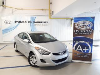 Used 2013 Hyundai Elantra L/MANUELLE MAGS for sale in Jonquière, QC